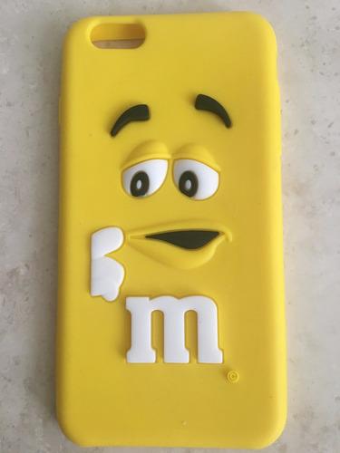 funda protector case m&m iphone 6 plus