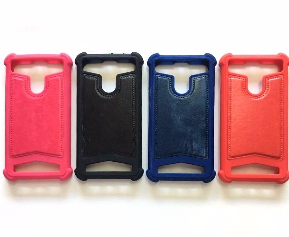 f120dba67fa funda protector celular silicona y cuero universal 4.5 a 5. Cargando zoom.