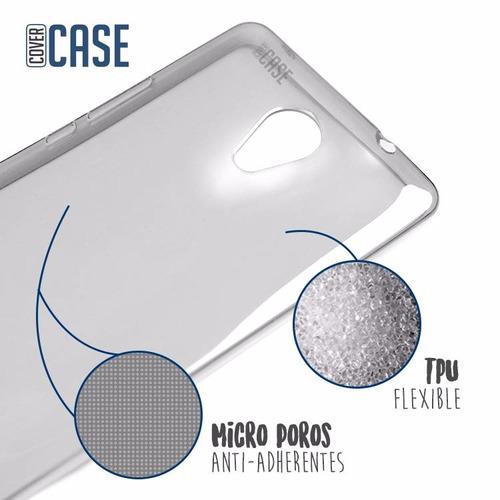 funda protector cristal glass mica tpu crystal case nokia 5