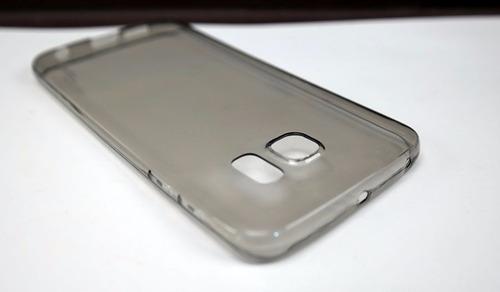 funda protector crystal case + 2 micas samsung s6 edge plus