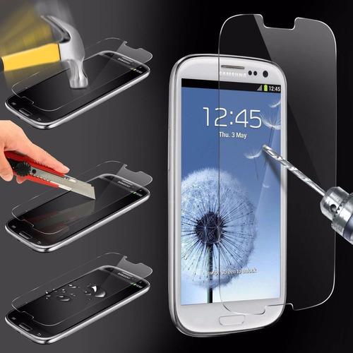 funda protector crystal case + cristal samsung a3 2016 a310