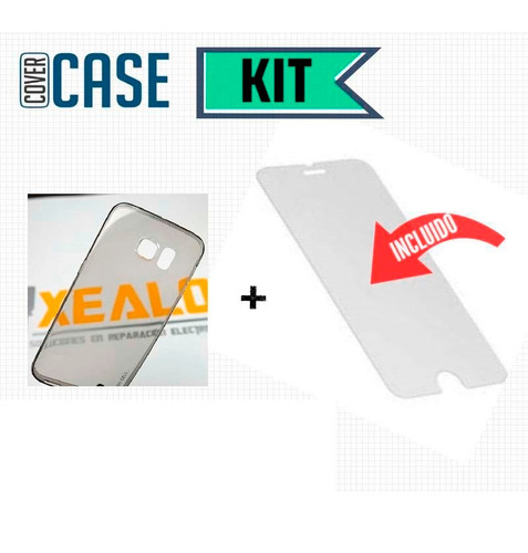 funda protector crystal case + cristal samsung j5 2015 j500