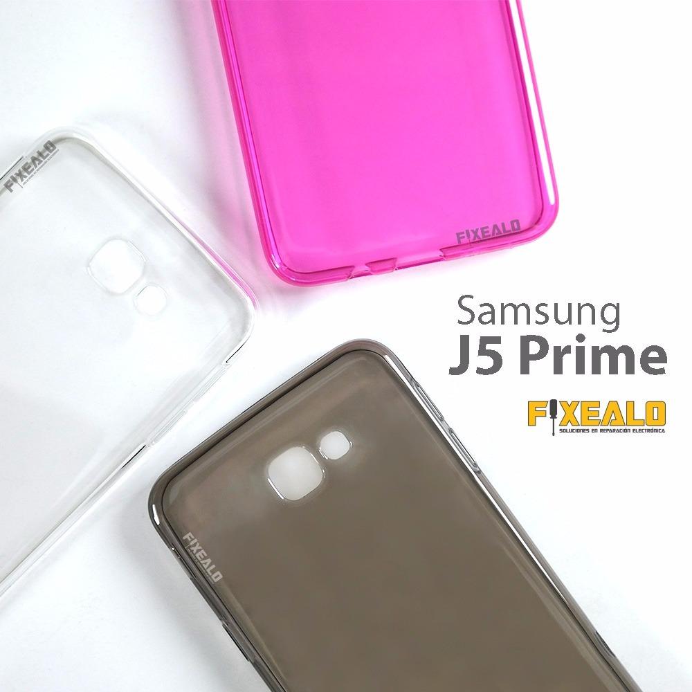 4f2ced51b9f funda protector crystal case tpu color samsung j5 prime. Cargando zoom.