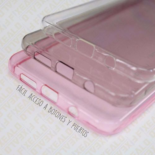 funda protector crystal case tpu + cristal lg x cam k580