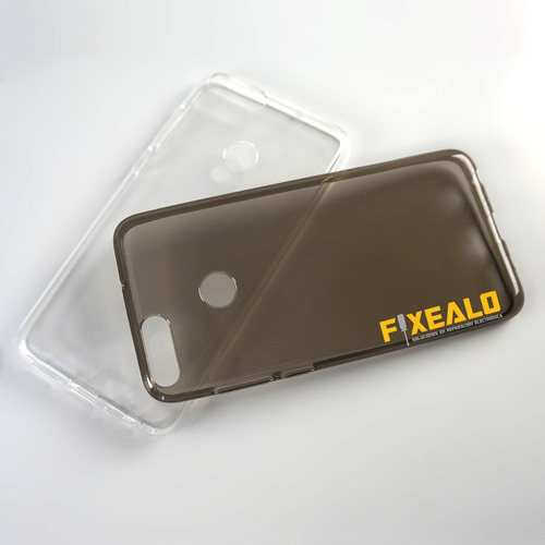 funda protector crystal case tpu flexible huawei p smart