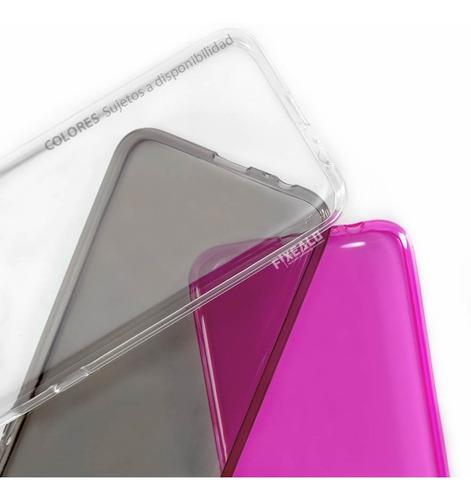 funda protector crystal case tpu moto c / c plus + cristal