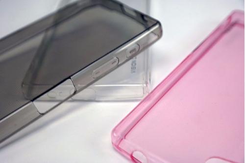 funda protector crystal case tpu sony z5 premium e6853