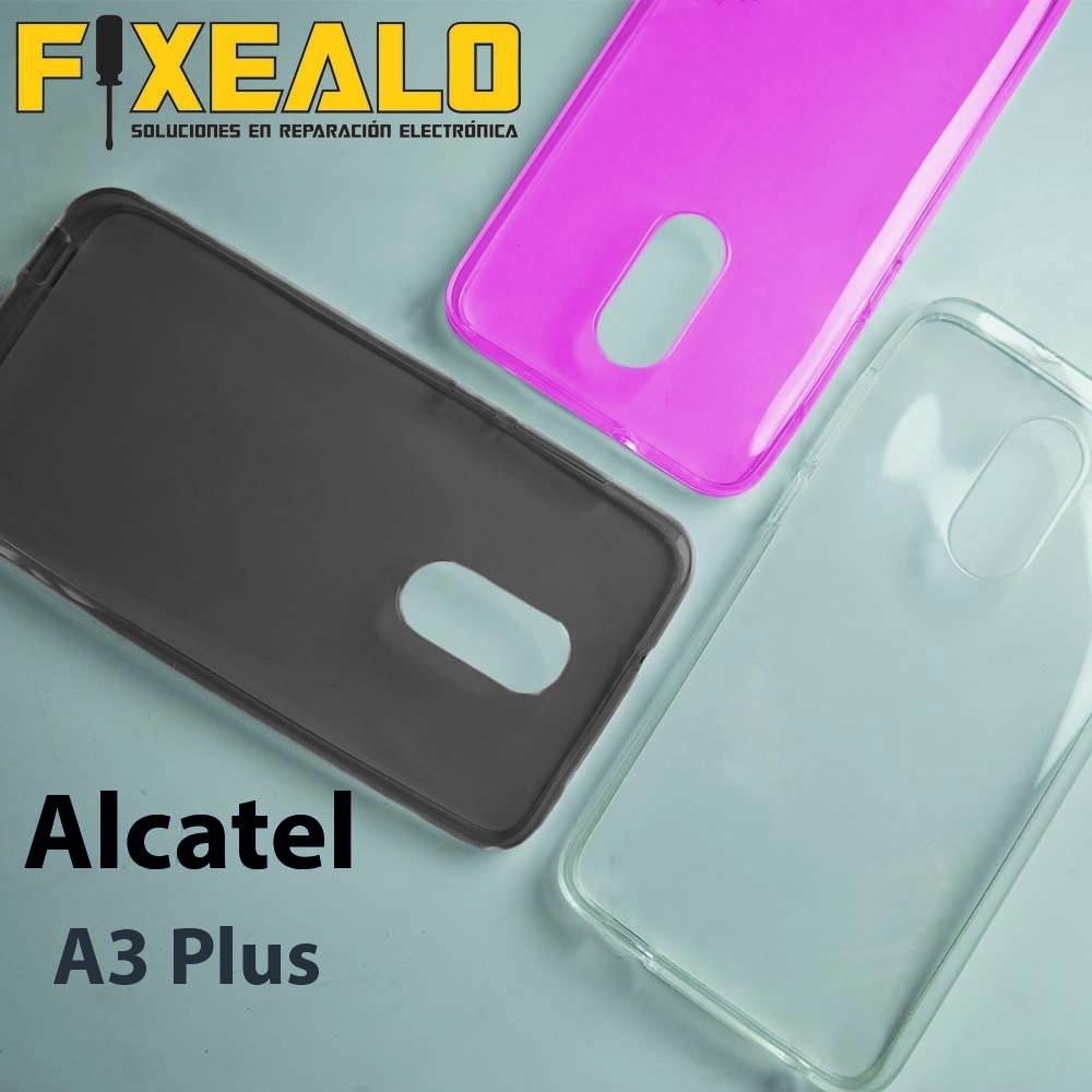 best loved f453f ba88f Funda Protector Crystal Case Transparente Alcatel A3 Plus