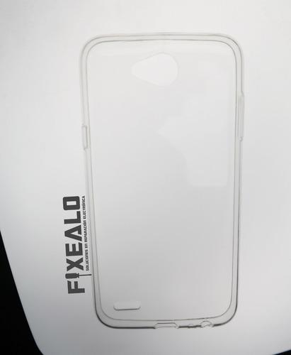 funda protector crystal case transparente tpu lg x power 2