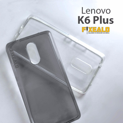 funda protector crystal tpu flexible lenovo k6 plus / note