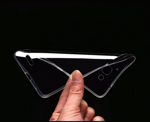 funda protector crystal tpu flexible sony c5 / ultra e5506