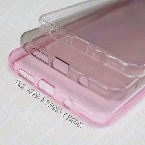 funda protector crystal tpu transparente huawei g elite l23