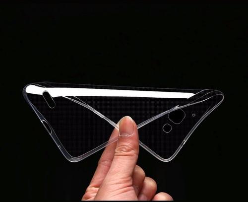 funda protector crystal tpu transparente moto x force xt1585