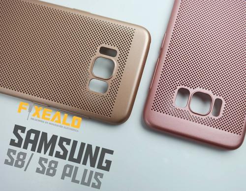funda protector delgada case + cristal samsung s8 / s8 plus