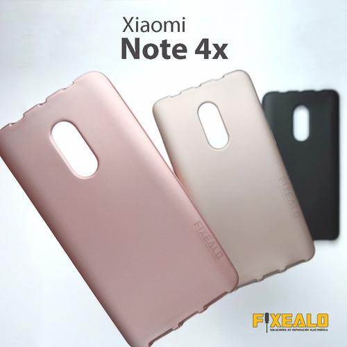funda protector elegante delgada jelly case  xioami note 4x