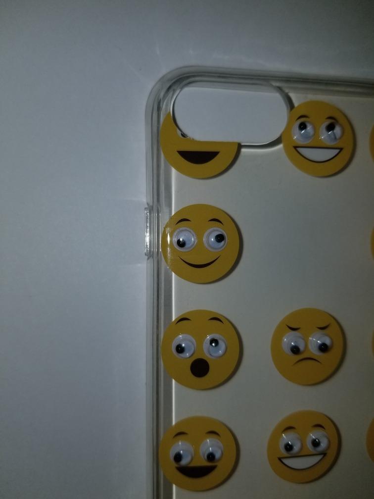 Funda Protector Emoji Mobo Original iPhone 7 Y 8 Envio