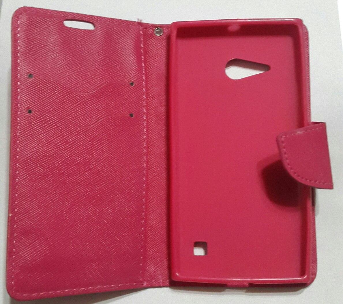 8cc631625e4 Funda Protector Flip Cover Lumia 640 435 Billetera Nokia - $ 190,00 ...