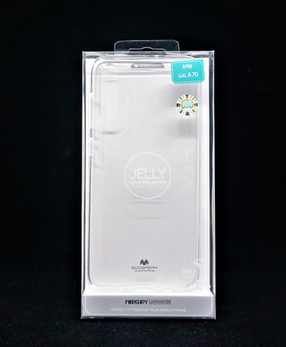 funda protector galaxy a70 goospery transparente jelly case