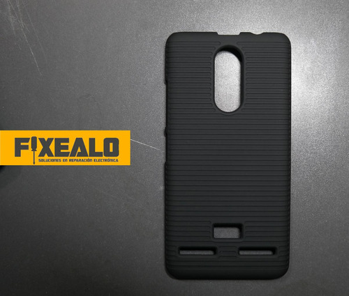 funda protector holster cilp uso rudo lenovo k6 + cristal