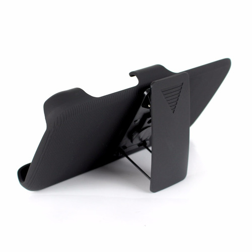 funda protector holster clip + cristal huawei g play mini