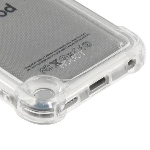 funda protector ipod touch 5 / 6 transparente esquinas refor