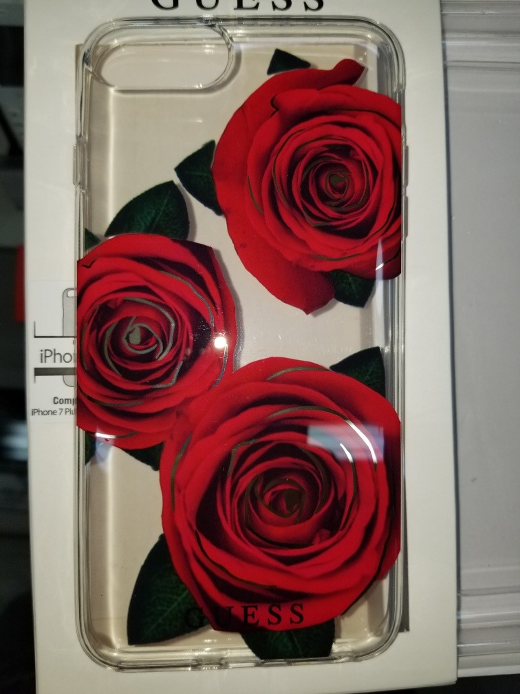 Funda Protectora Original GUESS Serie Flower - iPhone 8 - iPhone 7