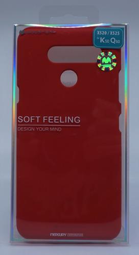 funda protector lg k50 goospery sf jelly case
