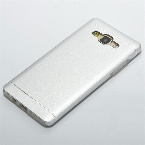funda protector metal aluminio  para  samsung j2 - otec