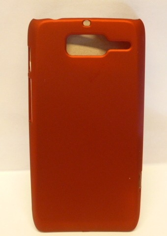 funda protector motorola d3 xt919 rojo titanium