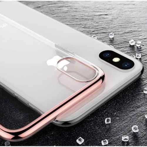Case Funda Transparente Protector Tpu Para Iphone X Colores