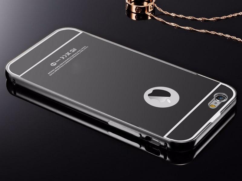 Funda Iphone  Negro Brillante