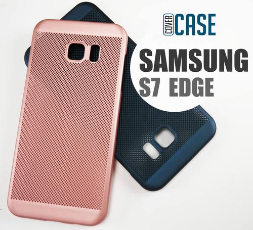 funda protector rejilla case delgada samsung s7 edge
