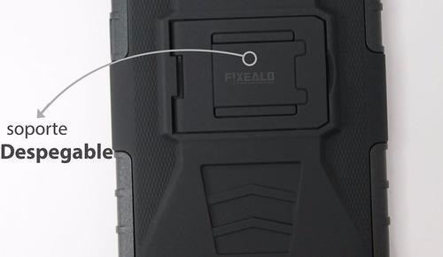 funda protector resistente uso rudo clip lenovo a1010