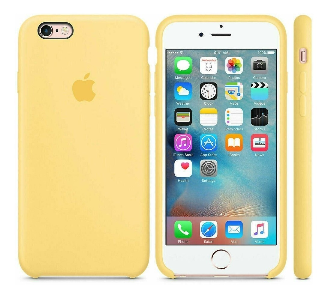 Funda iPhone 6 6s 7 8 Plus X Xs Max Xr Case Silicon Protector