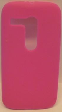 funda protector silicon moto g xt1032 rosa