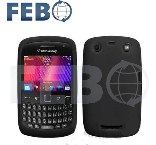 funda protector silicona premium para blackberry q10