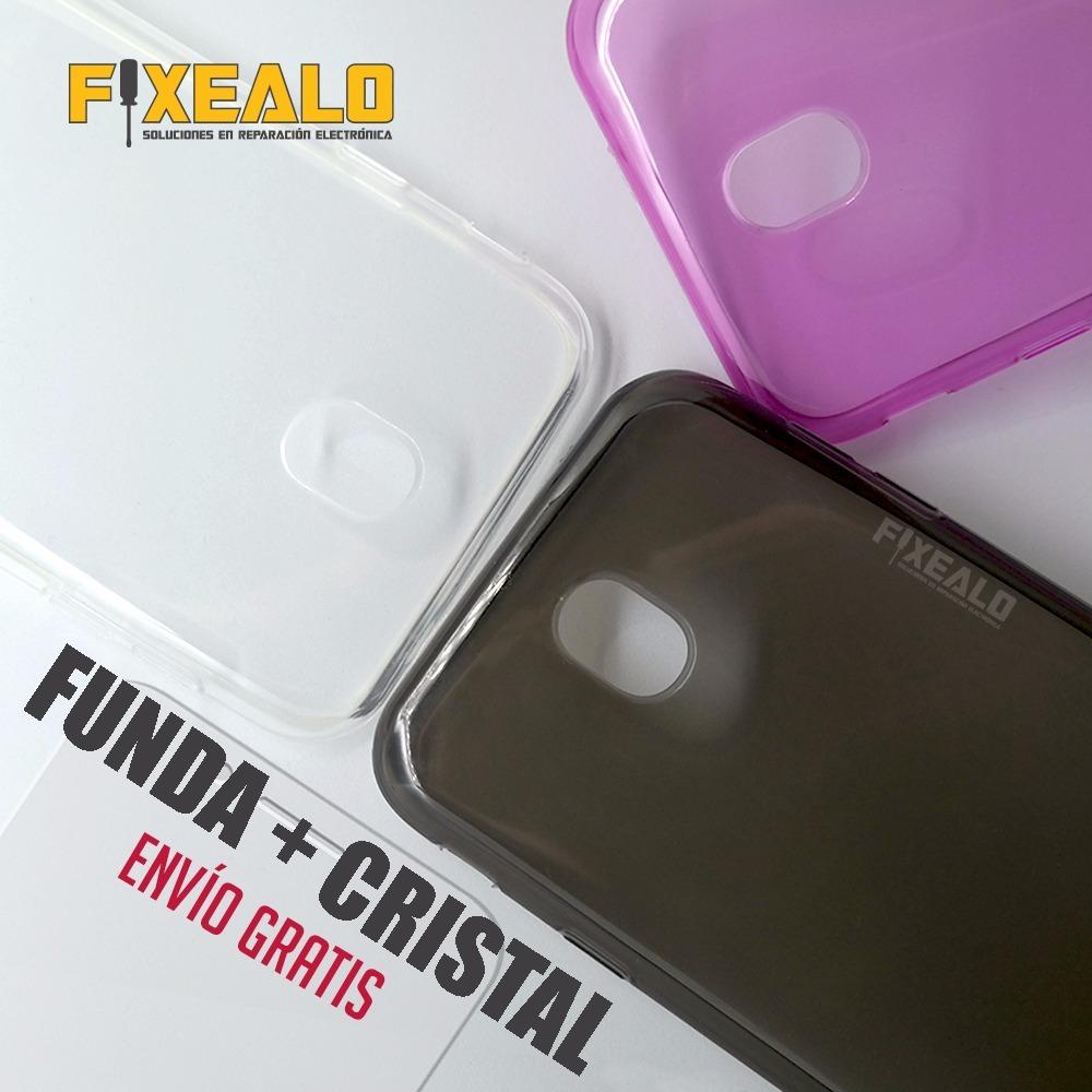 504614ccdde funda protector tpu crystal case + cristal samsung j5 pro. Cargando zoom.