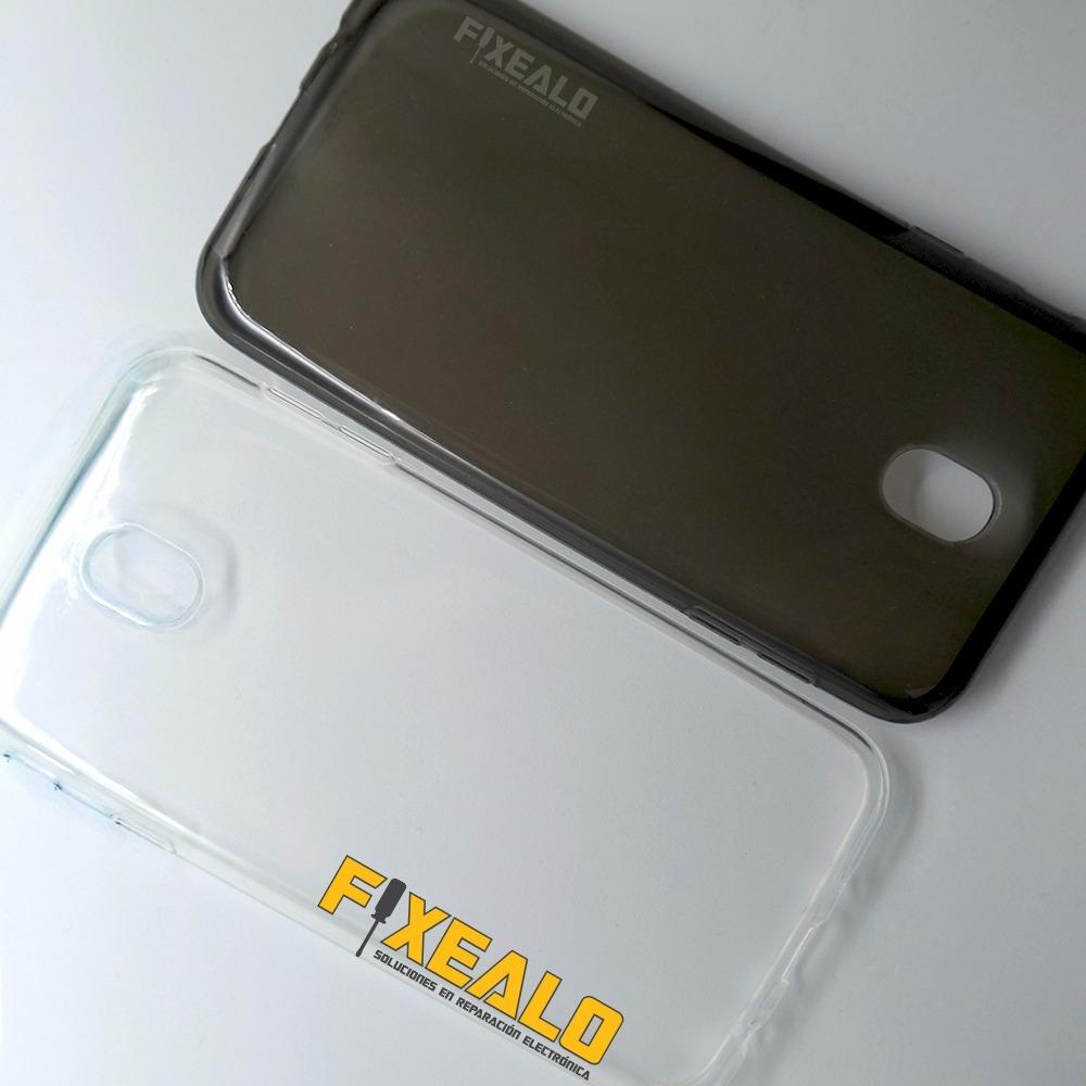 7196ad647fb funda protector tpu crystal case + cristal samsung j7 pro. Cargando zoom.