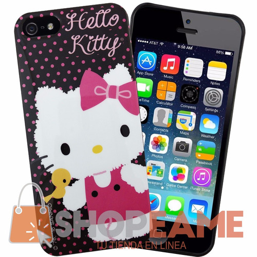 funda protector tpu hello kitty iphone 5