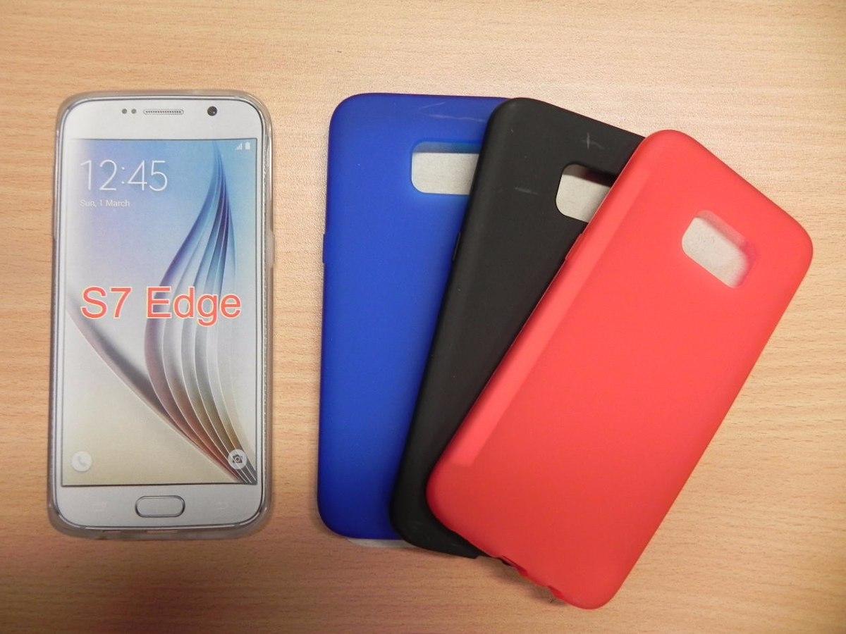 a710dcd543f Funda Protector Tpu Para Samsung Galaxy S7 Edge - $ 99,00 en Mercado ...