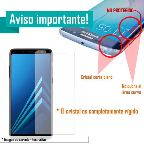 funda protector tpu resistente + cristal lg q6 prime q6 plus