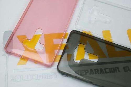 funda protector tpu transparente  + cristal huawei gw y62