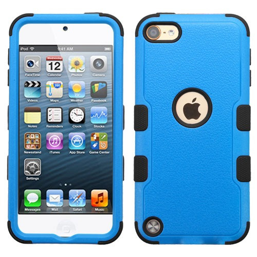 funda protector triple layer apple ipod touch 5g / 6g azul -