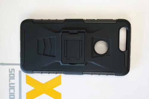 funda protector uso rudo case clip resistente huawei honor 8