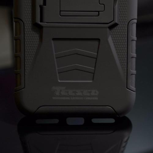 funda protector uso rudo clip + cristal sony t2 ultra d5306
