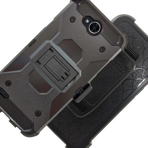 funda protector uso rudo clip lg x power 2