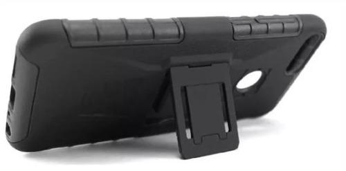 funda protector uso rudo con clip para xiaomi a2 negro