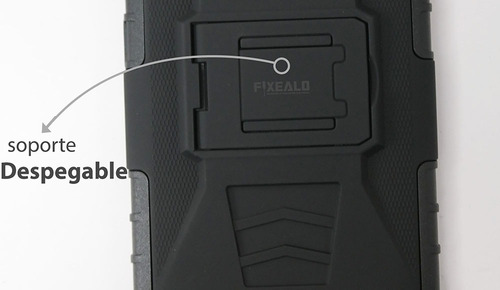 funda protector uso rudo más cristal templado sony xa f3112