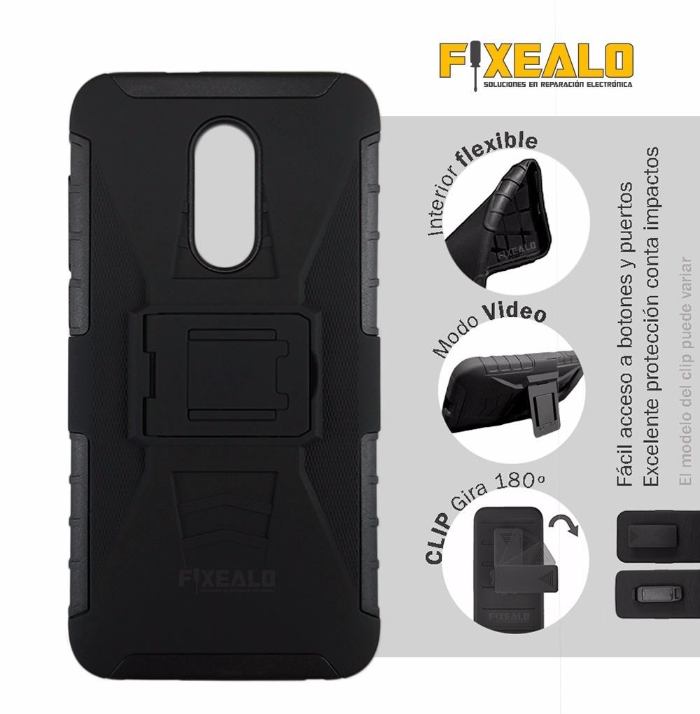 best loved de012 09a0b Funda Protector Uso Rudo Resistente Alcatel A3 Plus 5011