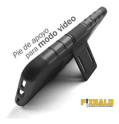 funda protector uso rudo resistente caidas clip iphone 7 / 8